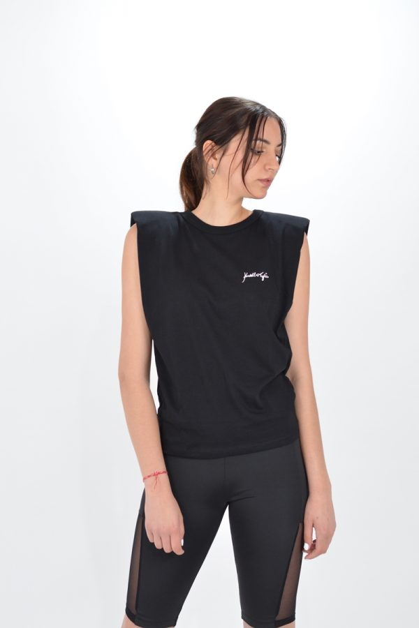 Collection Spring - Summer 2021 KENDALL + KYLIE PUFF SHOULDER TEE