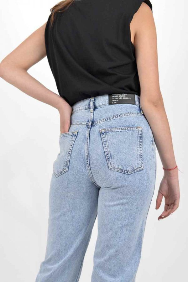 Collection Spring - Summer 2021 KENDALL + KYLIE RIB CAGE LEVI DENIM