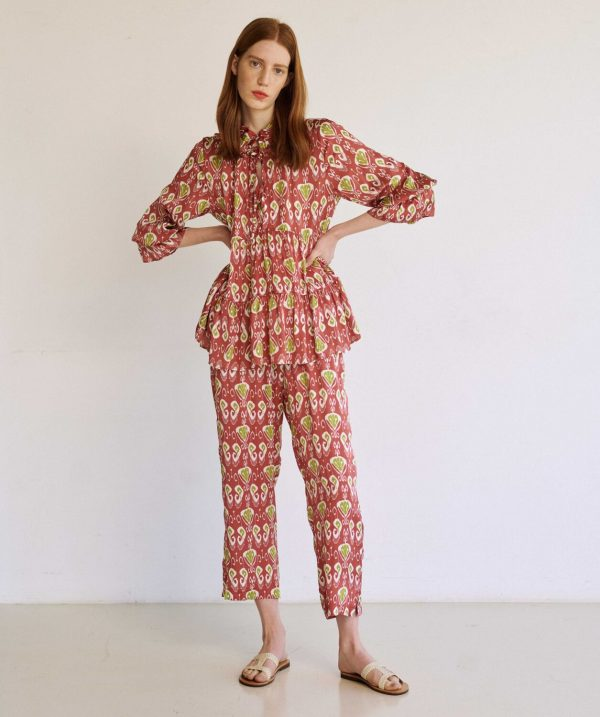 Collection Spring - Summer 2021 MILLA ΦΟΡΕΜΑ ΤΙΡΑΝΤΑ MULTIPRINT