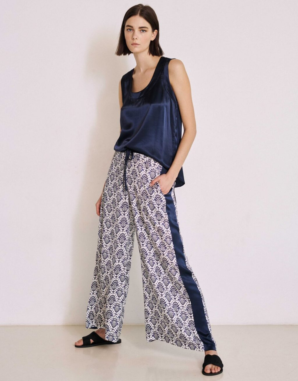 Collection Spring - Summer 2021 MILLA PIJAMA STYLE ΠΑΝΤΕΛΟΝΑ