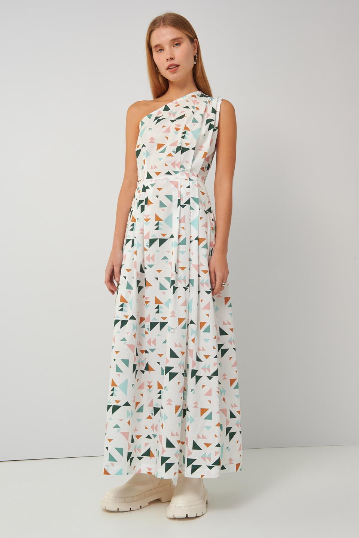 Collection Spring - Summer 2021 BLACK&BLACK ONE SHOULDER DRESS