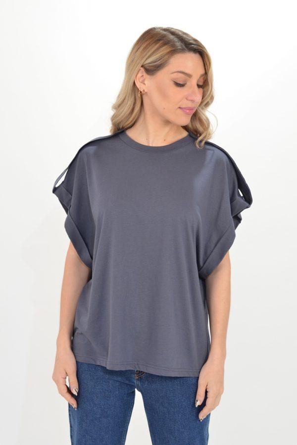 Γυναικεία Ρούχα CKONTOVA WRAP SHIRT SS21W220600