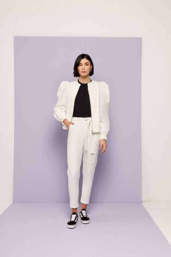 Collection Spring - Summer 2021 NEMA PUFF SLEEVES JACKET
