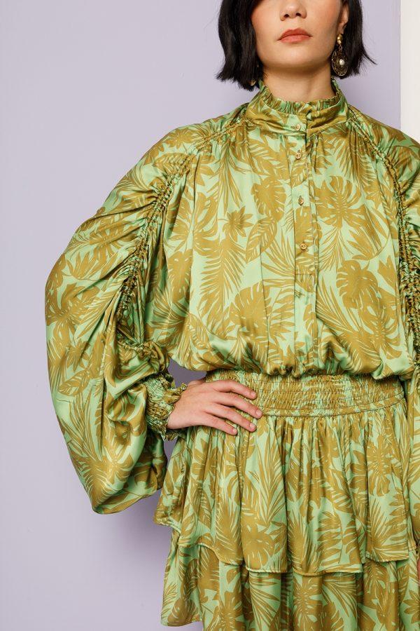 Collection Spring - Summer 2021 NEMA PRINTED MINI DRESS