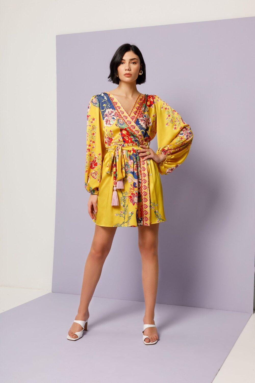Collection Spring - Summer 2021 NEMA MINI WRAP DRESS