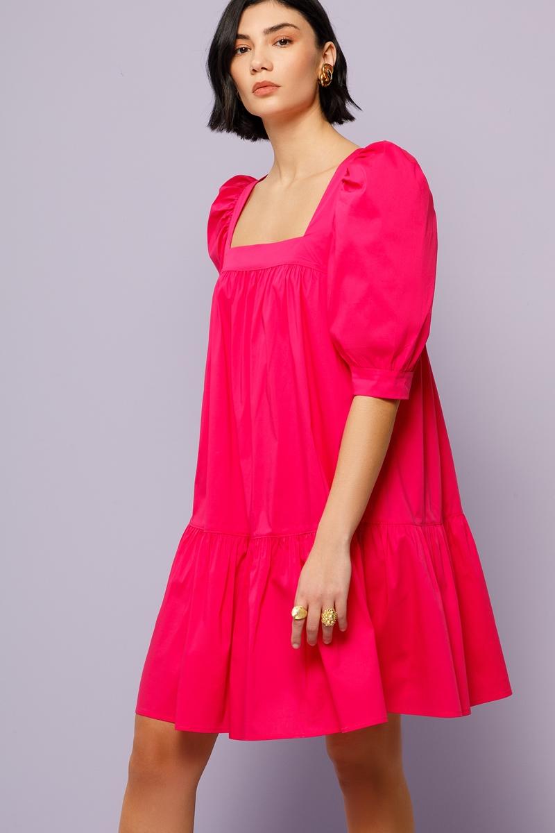 Collection Spring - Summer 2021 NEMA PUFF SLEEVE DRESS