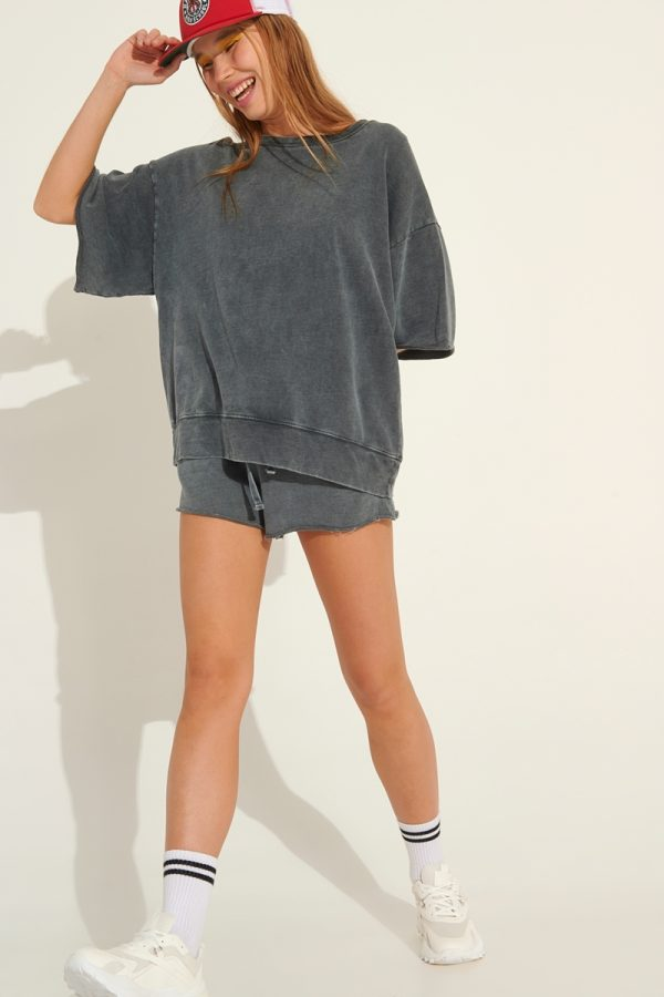 Collection Spring - Summer 2021 FOURMINDS STONE-WASHED BLOUSE