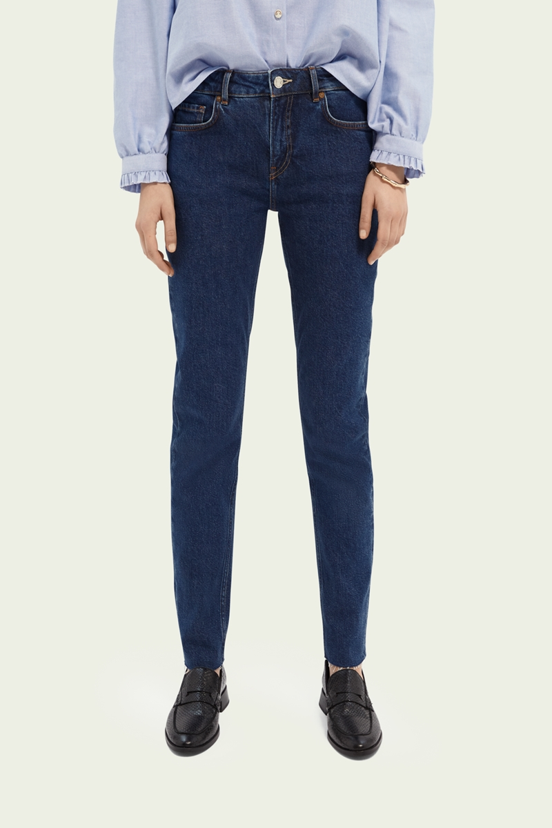 Collection Spring - Summer 2021 SCOTCH&SODA COMFORT STRETCH COTTON-BLEND JEANS