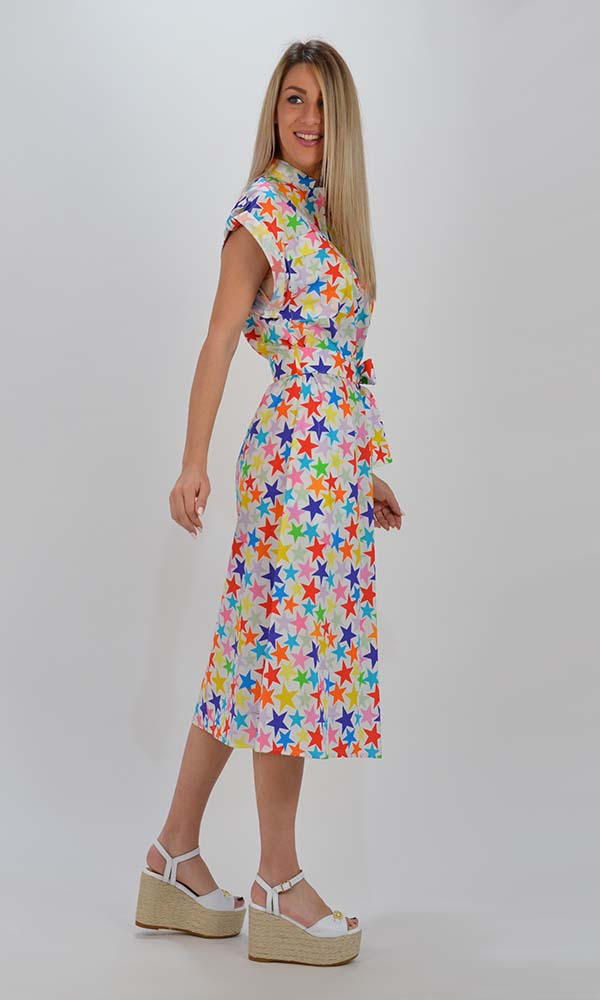 Collection Spring - Summer 2021 IMPERIAL COLOURFUL STARS DRESS