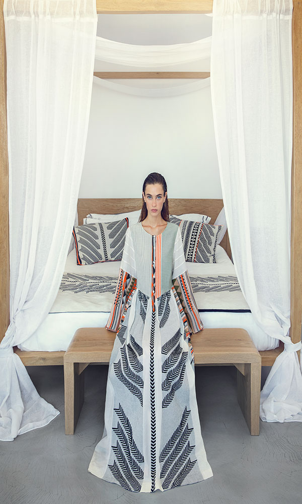 Collection Spring - Summer 2021 DEVOTION LONG DRESS MULTI COLOR