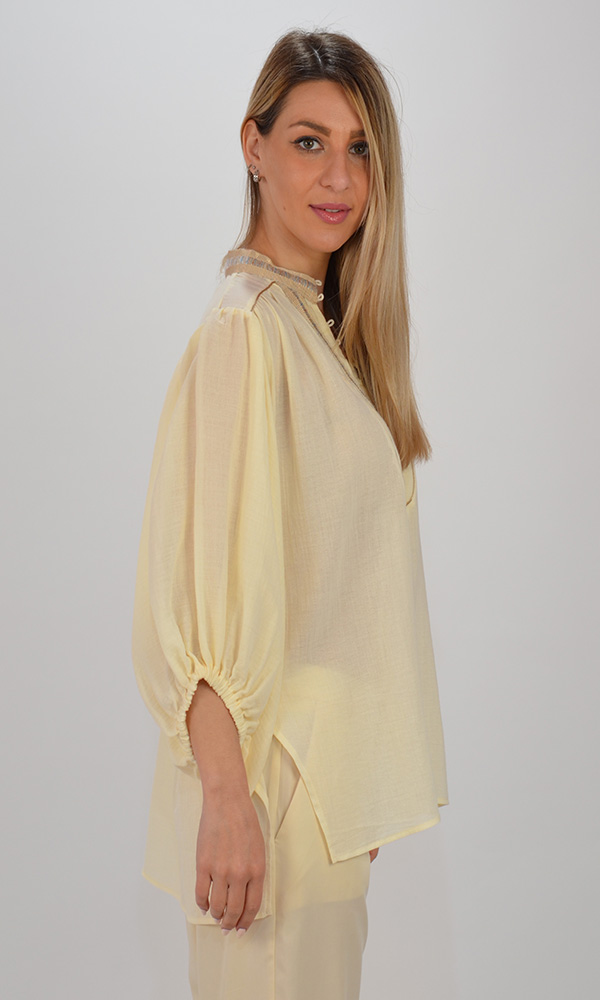 Collection Spring - Summer 2021 I-ROUS SUNFLOWER BLOUSE
