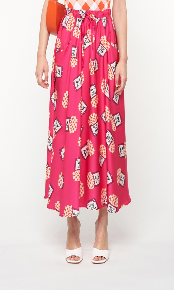 Collection Spring - Summer 2021 WE ARE FRONT POCKET FULL SKIRT