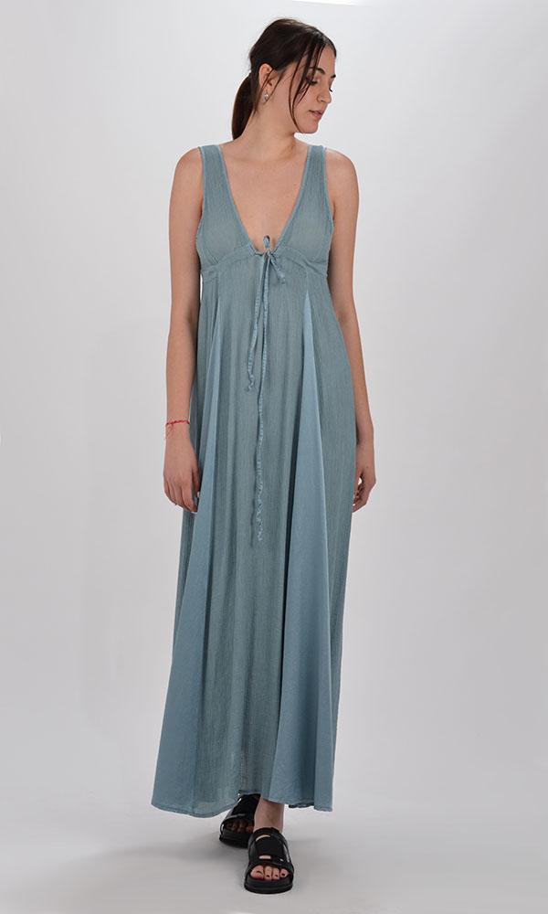 Collection Spring - Summer 2021 MILLA V-NECK SLEEVELESS DRESS