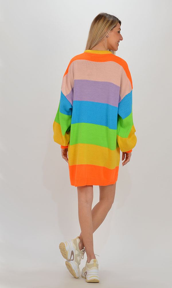 Collection Spring - Summer 2021 THE LULU KNITTED LONG SWEATER