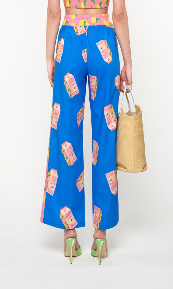 Collection Spring - Summer 2021 WE ARE PANELLED PAJAMA PANTS