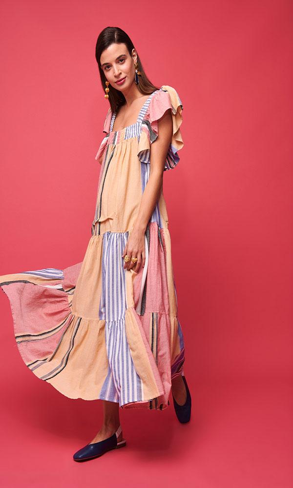 Collection Spring - Summer 2021 NEMA MIDI BOHO DRESS