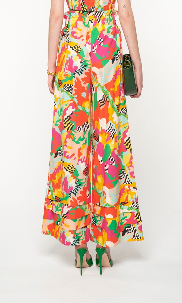 Collection Spring - Summer 2021 WE ARE HIGH WAISTED WIDE LEGS PANTS