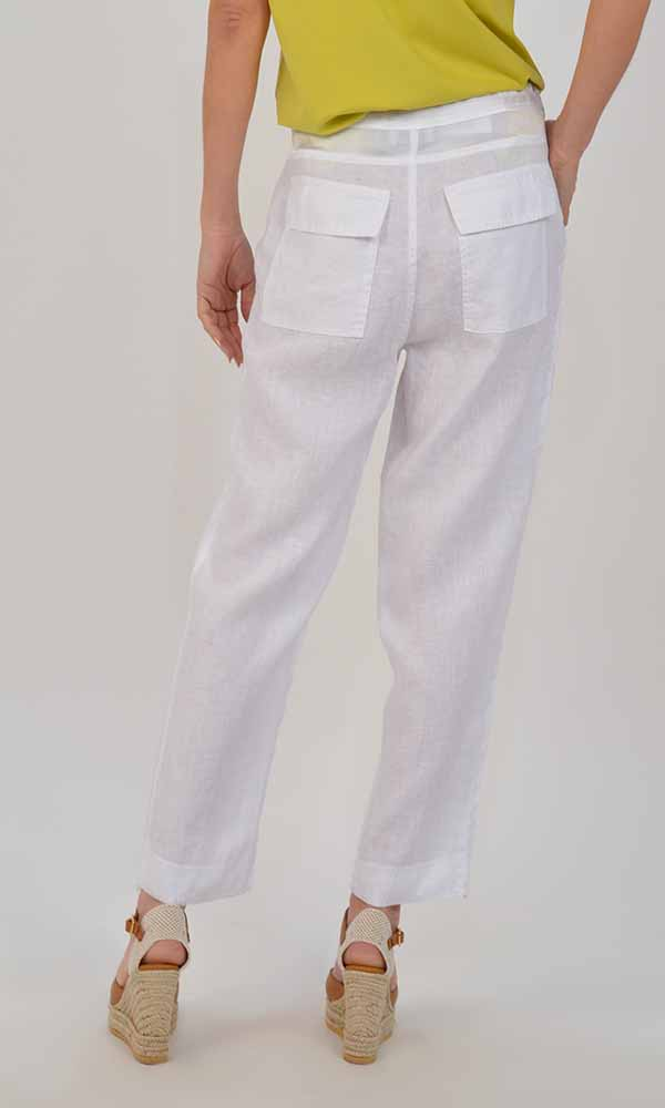 Collection Spring - Summer 2021 MILLA LINEN PANTS