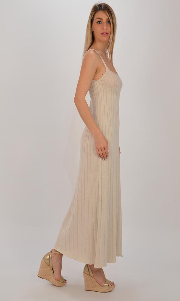 Collection Spring - Summer 2021 CKONTOVA KNIT DRESS OFF WHITE