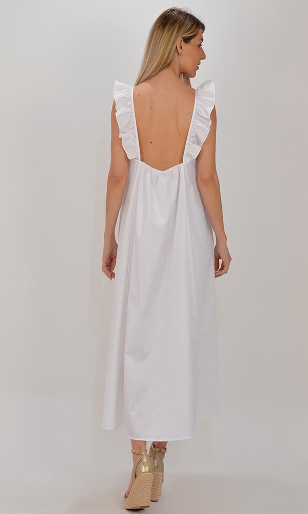 Collection Spring - Summer 2021 DEVOTION MIDI DARCY DRESS WHITE