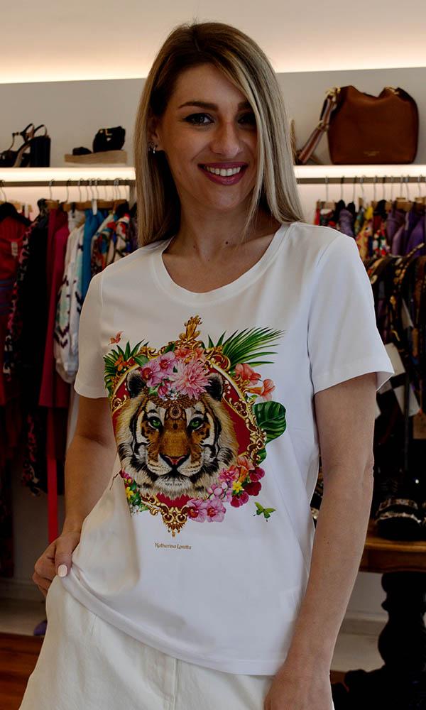 Collection Spring - Summer 2021 KATHERINA LORETTA MADISON SUMMER T-SHIRT