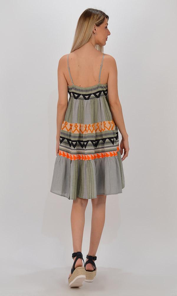 Collection Spring - Summer 2021 DEVOTION TWINS DOHA SHORT DRESS