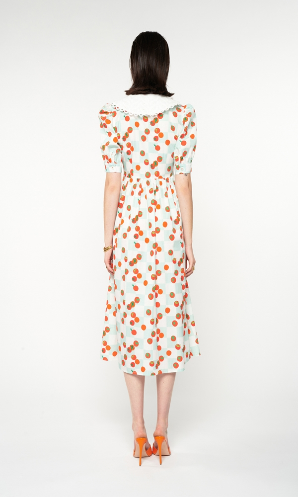 Collection Spring - Summer 2021 WE ARE CUTWORKOUT BROIDERY COLLAR DRESS