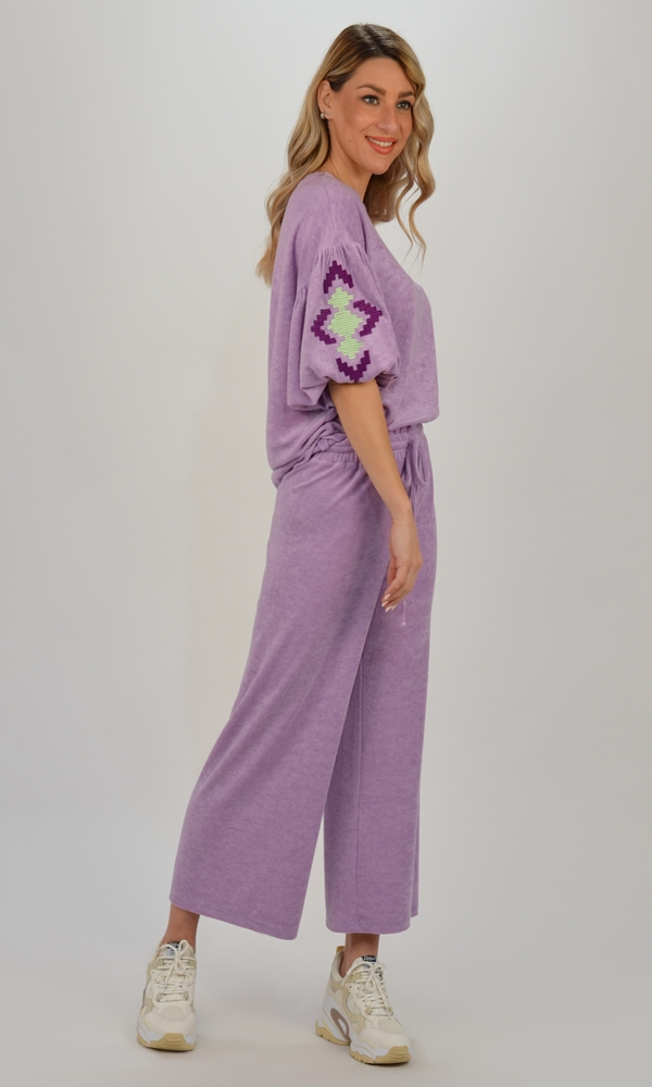 Collection Spring - Summer 2021 AVANT GARDE CROP SWEAT PANTS
