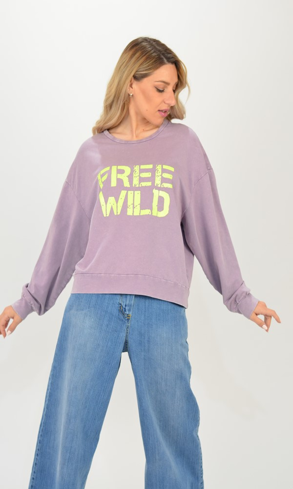 Collection Spring - Summer 2021 NAIIF FREE WILD SWEATER