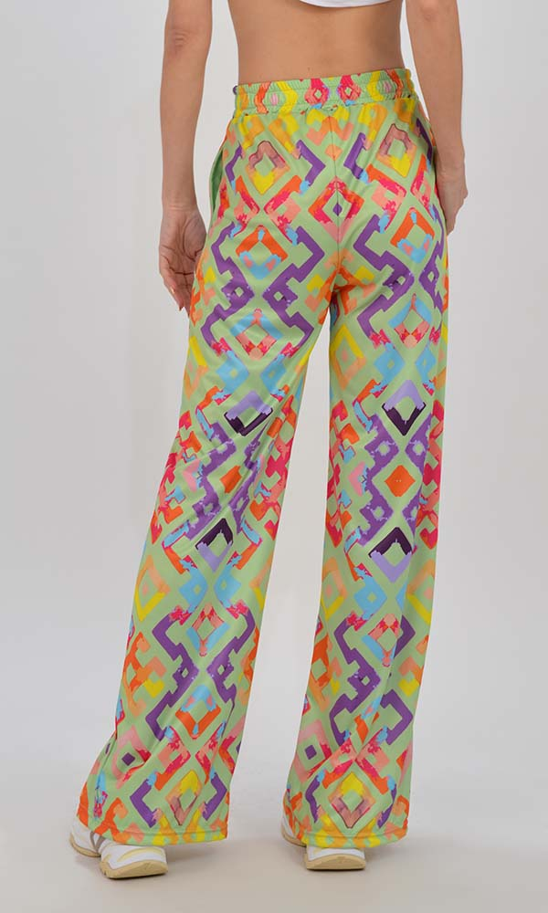 Collection Spring - Summer 2021 TYPE LOVE LOOSE PANTS IDRIS PISTACHIO