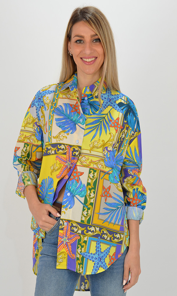 Collection Spring - Summer 2021 IMPERIAL AMALFI SHIRT