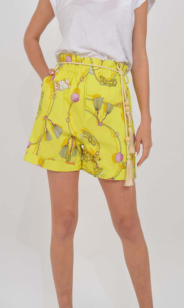 Collection Spring - Summer 2021 THE LULU SUMMER PRINTED SHORTS