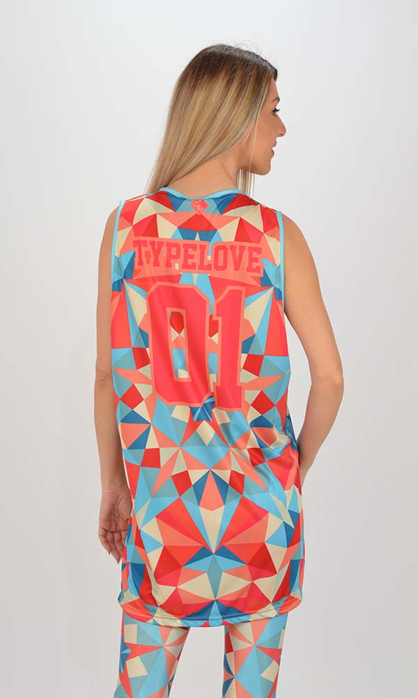 Collection Spring - Summer 2021 TYPE LOVE TOP ORIGAMI MINT GLOSSY