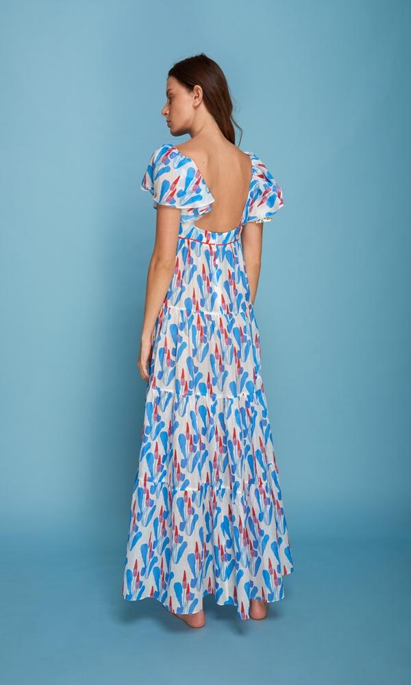 Collection Spring - Summer 2021 CRISTINA BEAUTIFUL LIFE ALESIA DRESS