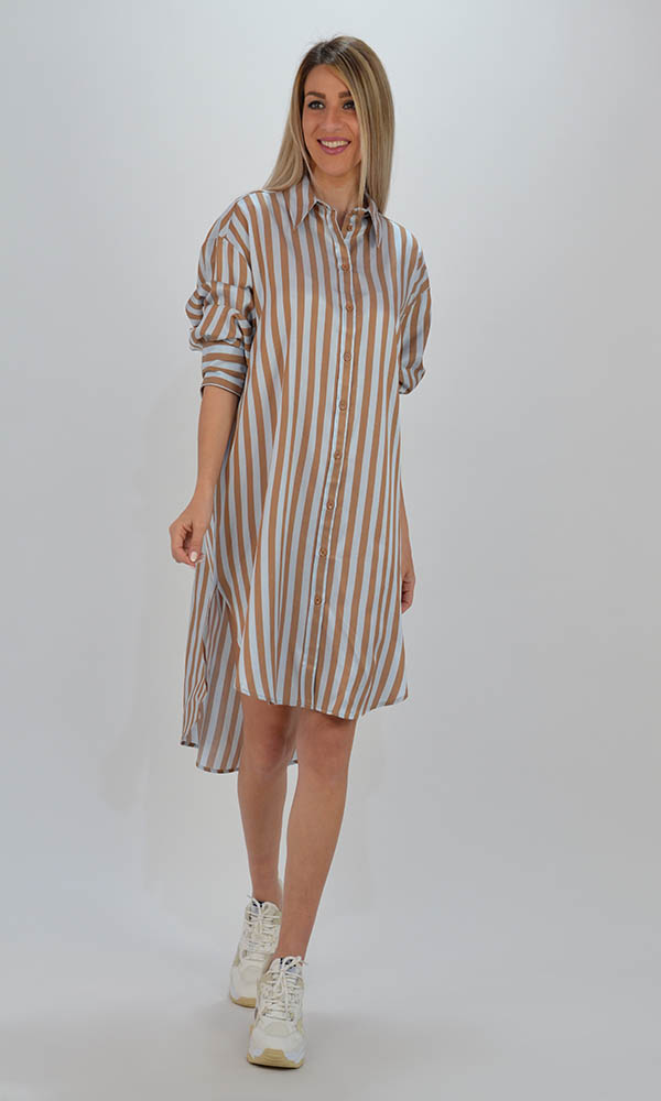 Collection Spring - Summer 2021 IMPERIAL SHIRT DRESS ΡΙΓΕ