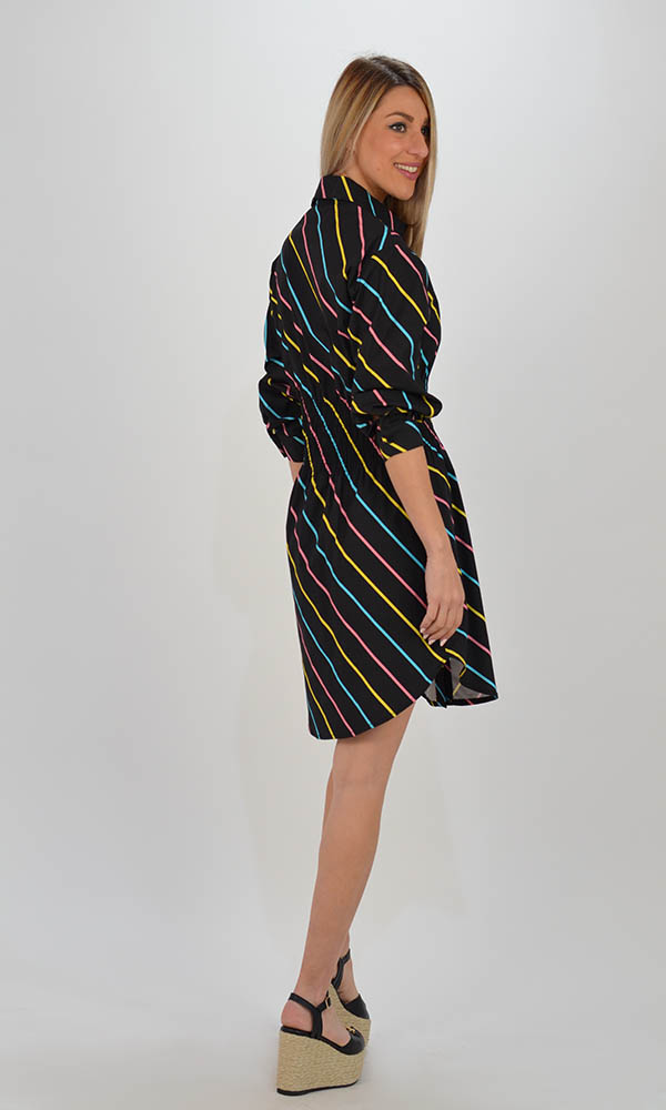 Collection Spring - Summer 2021 THE LULU STRIPE MINI DRESS