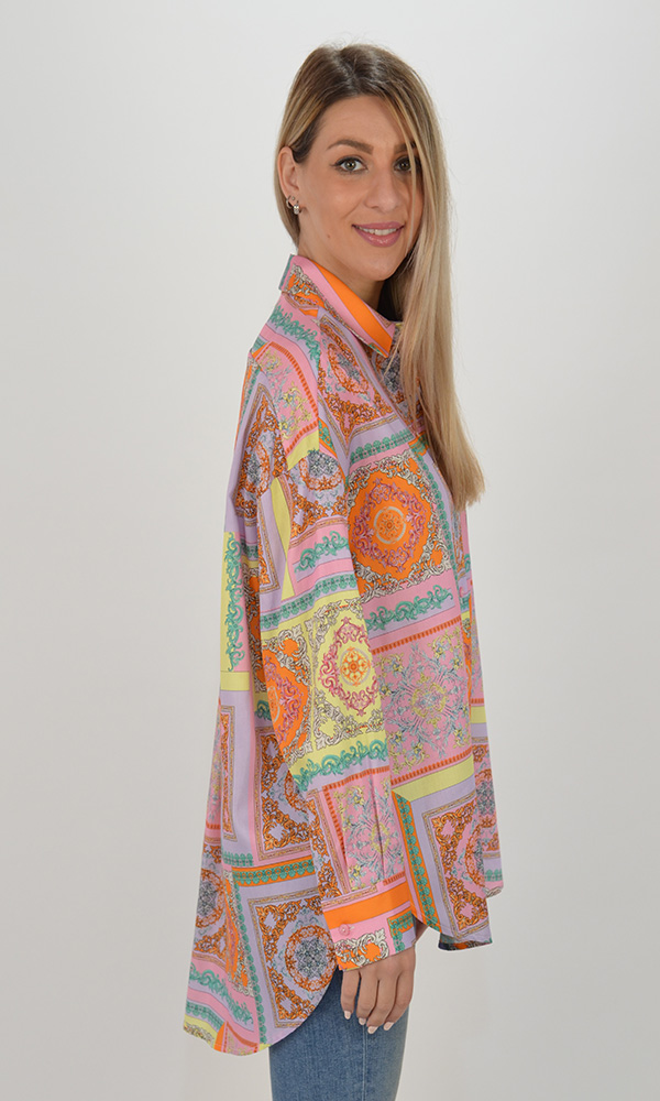 Collection Spring - Summer 2021 IMPERIAL MOROCCAN PATTERN SHIRT