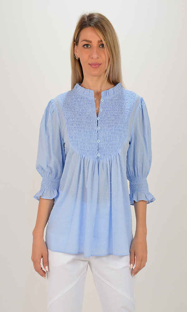 Collection Spring - Summer 2021 LOTUS EATERS HERMIONE BLOUSE