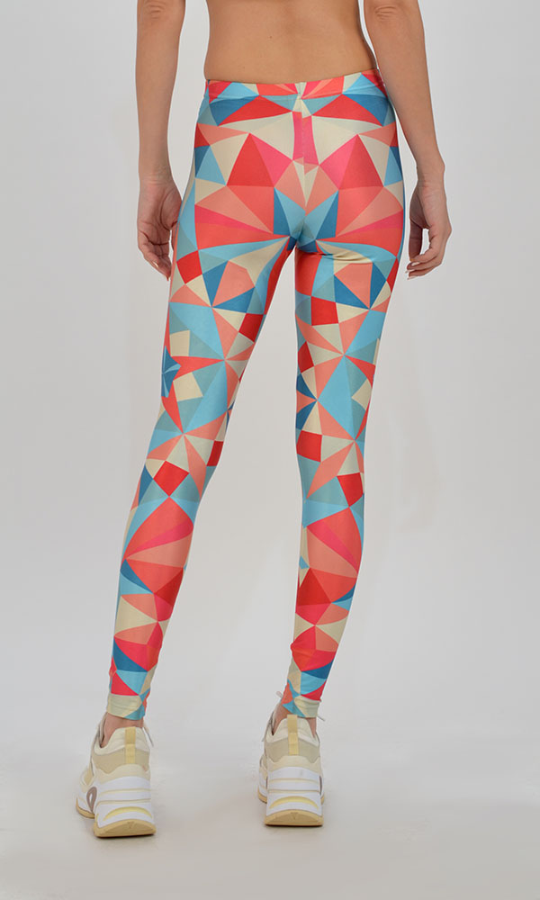 Collection Spring - Summer 2021 TYPE LOVE LEGGINGS ORIGAMI MINT