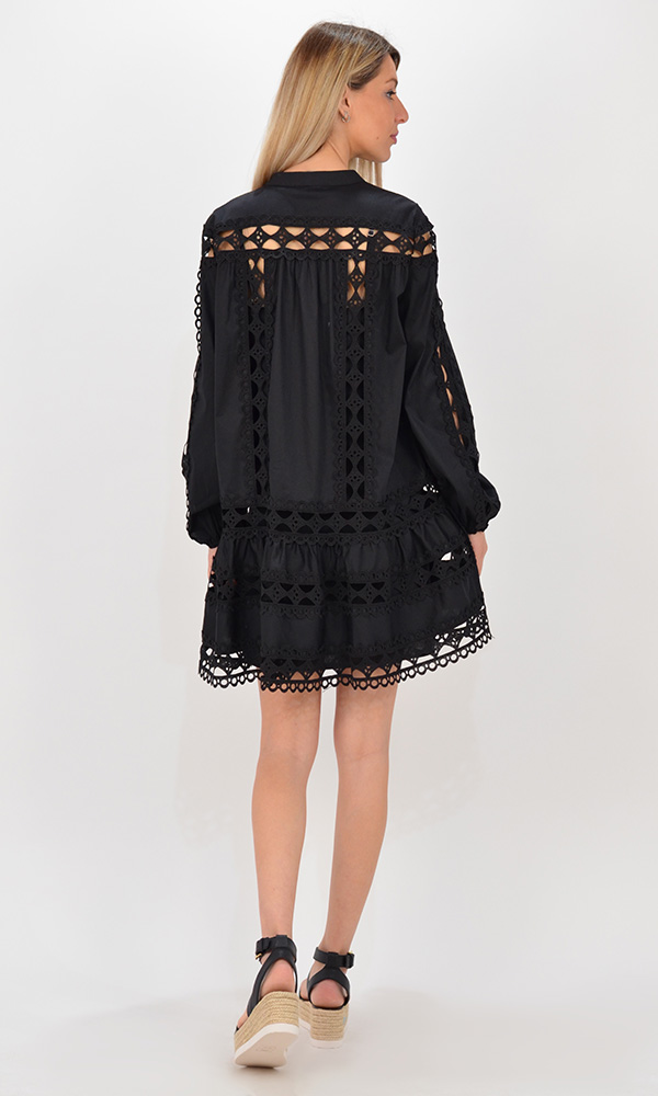 Collection Spring - Summer 2021 DEVOTION TWINS LACE DRESS TOKYO SHORT