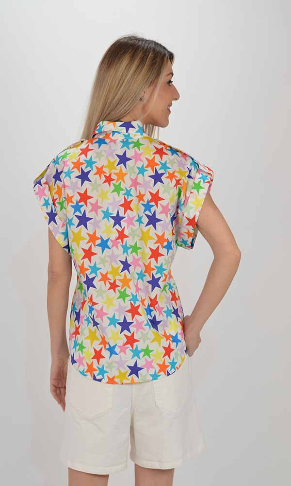 Collection Spring - Summer 2021 IMPERIAL COLORFUL STARS SHIRT