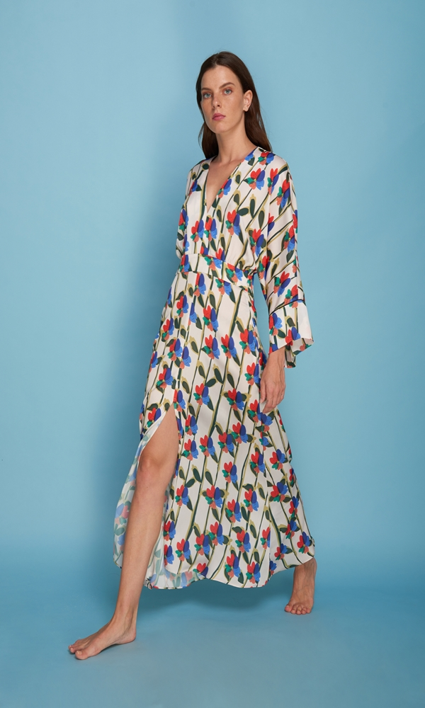Collection Spring - Summer 2021 CRISTINA BEAUTIFUL LIFE LILIANA DRESS