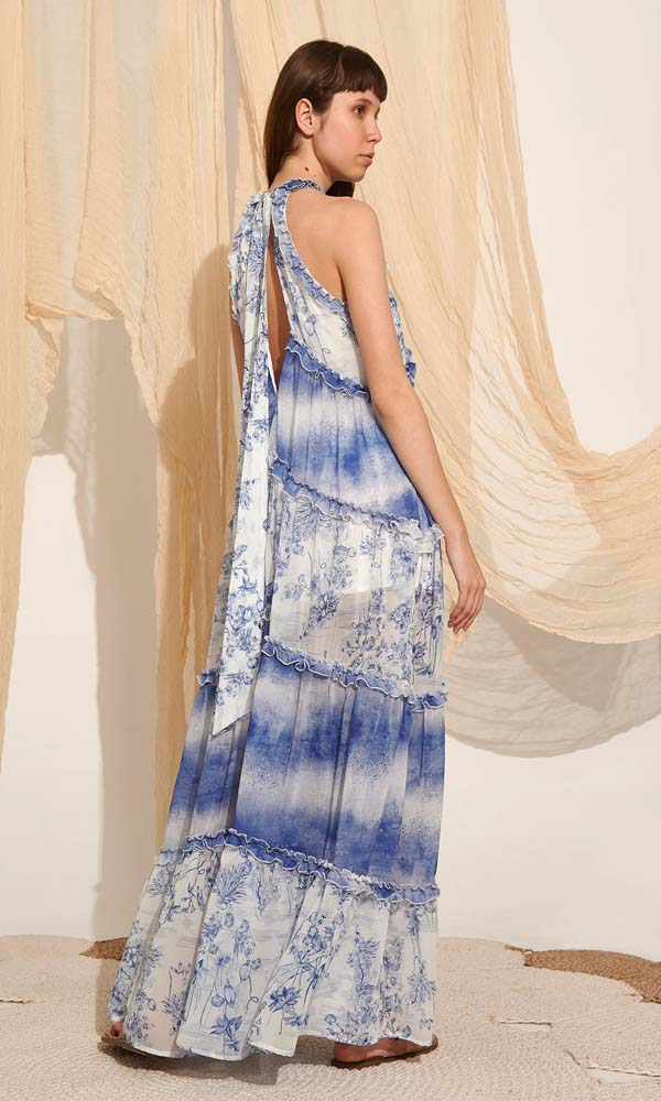 Collection Spring - Summer 2021 LACE ROMANTIC BOHO DRESS
