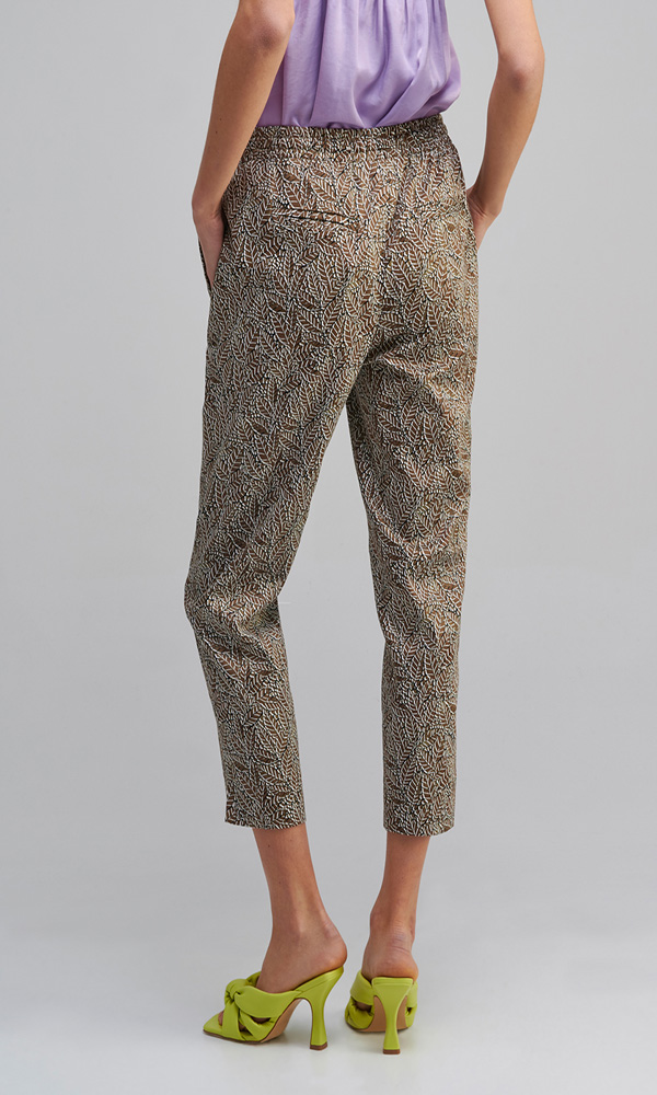 Collection Spring - Summer 2021 MY TIFFANY PRINTED TROUSERS