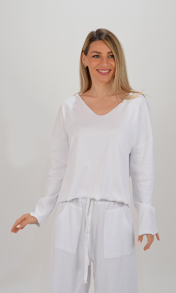 Collection Spring - Summer 2021 FOURMINDS RIB BLOUSE