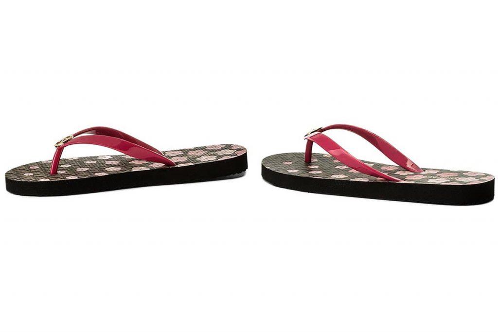 Παπούτσια MICHAEL KORS FLIP FLOP FLORAL ULTRA PINK