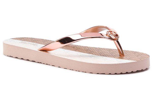 Παπούτσια MICHAEL KORS FLIP FLOP ROSE GOLD