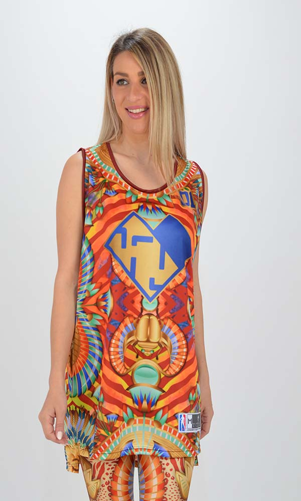 Collection Spring - Summer 2021 TYPE LOVE TOP NEFERTITI O GLOSSY