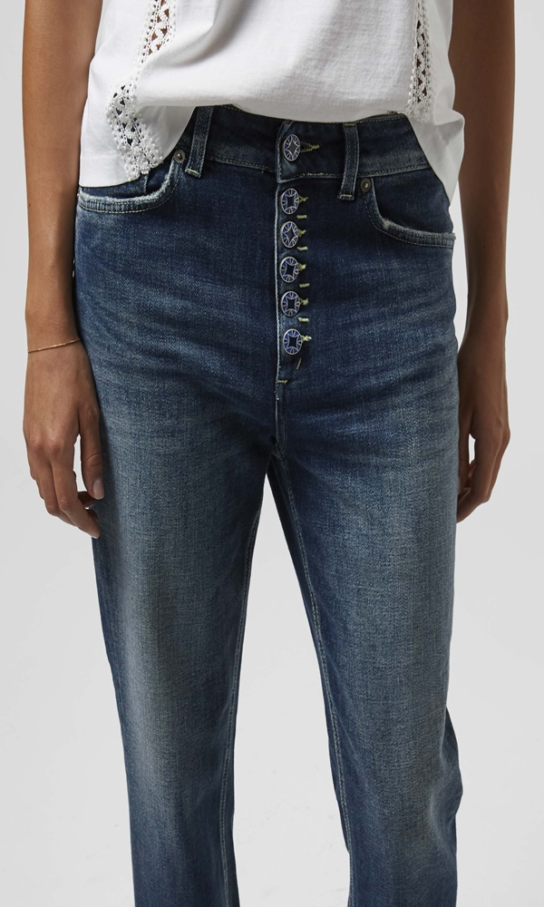 Collection Spring - Summer 2021 DONDUP KOONS LOOSE-FIT JEANS DENIM