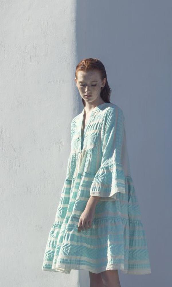 Collection Spring - Summer 2021 DEVOTION SHORT DRESS 'NEON ELLA'